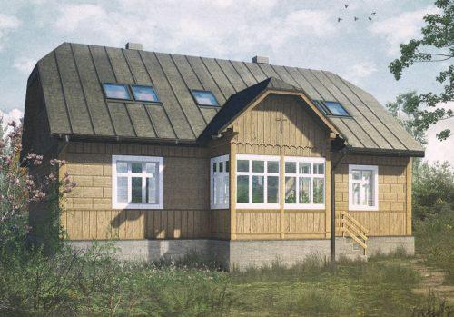 Dom w Siołkowej